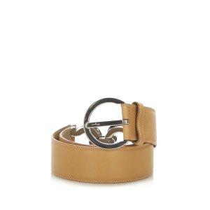 Ferragamo Cinturón marrón Cuero
