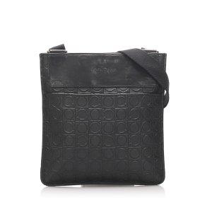 Ferragamo Gancini Leather Crossbody Bag