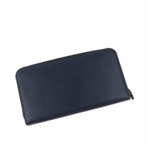 Ferragamo Gancini Leather Long Wallet