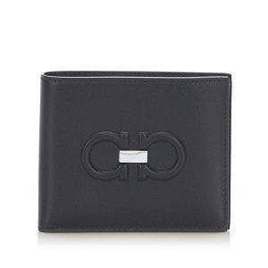 Ferragamo Gancini Leather Small Wallet