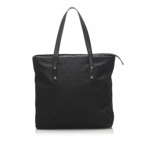 Ferragamo Gancini Leather Tote Bag