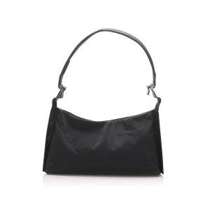 Ferragamo Gancini Nylon Shoulder Bag