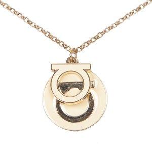 Ferragamo Gancini Pendant Necklace