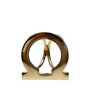 Ferragamo Scarf gold-colored metal