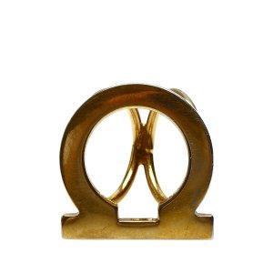 Ferragamo Bufanda color oro metal