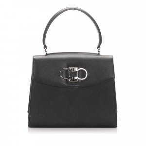 Ferragamo Gancino Leather Handbag