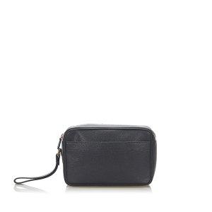 Ferragamo Leather Clutch Bag