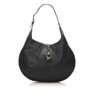 Ferragamo Leather Hobo Bag