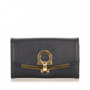 Ferragamo Leather Key Holder
