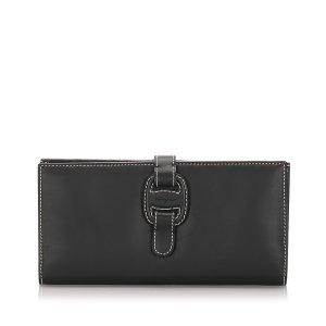 Ferragamo Leather Long Wallet