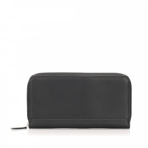 Ferragamo Leather Long Wallet