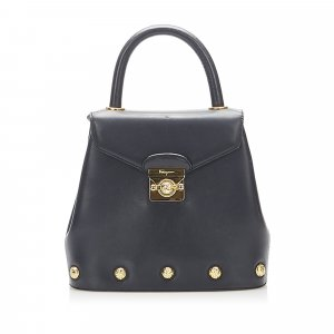 Ferragamo Leather Satchel