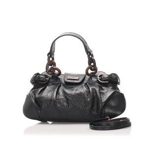 Ferragamo Satchel black leather