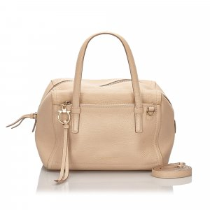 Ferragamo Leather Satchel