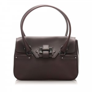 Ferragamo Leather Shoulder Bag