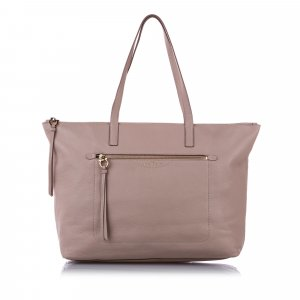 Ferragamo Leather Tote Bag