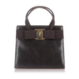 Ferragamo Leather Vara Handbag