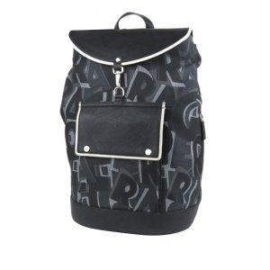 Ferragamo Logo Canvas Backpack