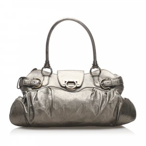 Ferragamo Marisa Leather Shoulder Bag
