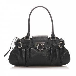 Ferragamo Marisa Leather Shoulder Bag