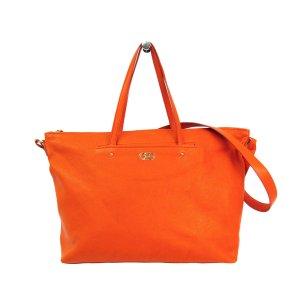 Ferragamo Sac fourre-tout orange cuir