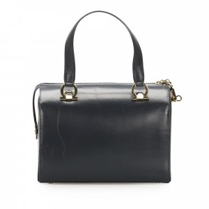 Ferragamo Mini Gancini Leather Handbag