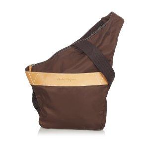 Ferragamo Nylon Crossbody Bag