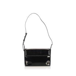 Ferragamo Patent Leather Shoulder Bag