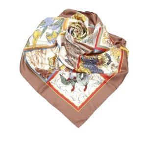 Ferragamo Printed Silk Scarf