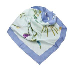 Ferragamo Sjaal blauw Zijde