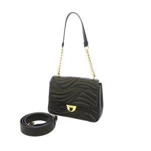 Ferragamo Quilted Gancini Leather Shoulder Bag