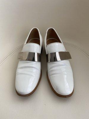 Salvatore ferragamo Moccasins white leather