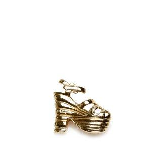 Ferragamo Brooch gold-colored metal
