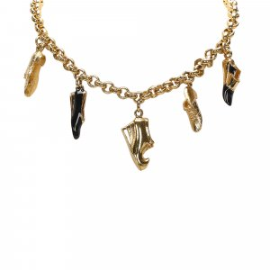 Ferragamo Shoe Pendant Necklace
