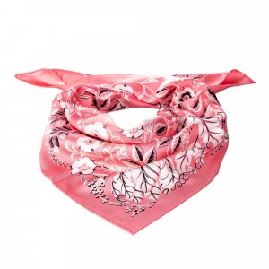 Ferragamo Sjaal rosé Zijde