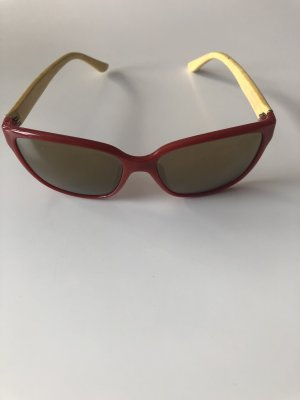 Ferragamo Glasses red-cream