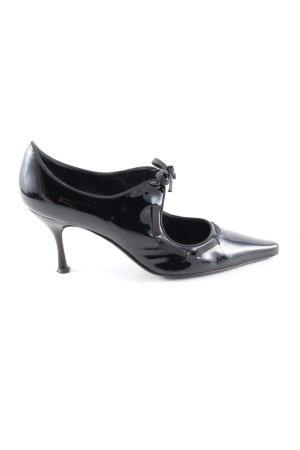 Ferragamo Spitz-Pumps schwarz Elegant