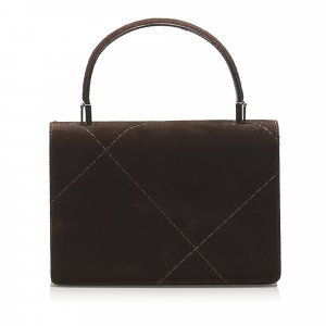 Ferragamo Suede Leather Satchel