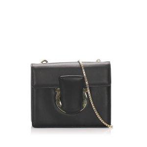 Ferragamo Thalia Leather Crossbody Bag