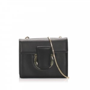 Ferragamo Thalia Leather Crossbody Bag