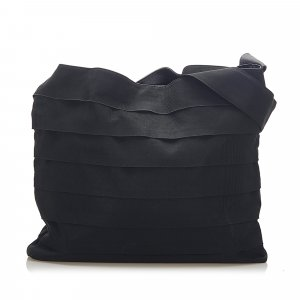 Ferragamo Tiered Grosgrain Shoulder Bag