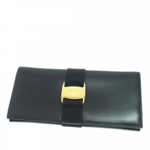 Ferragamo Vara Bifold Leather Wallet