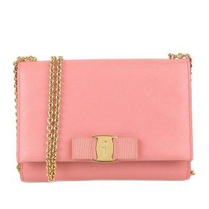 Ferragamo Vara Ginny Leather Crossbody Bag