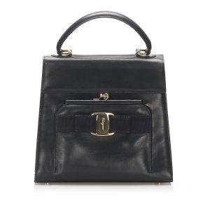 Ferragamo Vara Leather Handbag