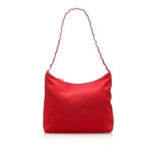 Ferragamo Vara Nylon Shoulder Bag