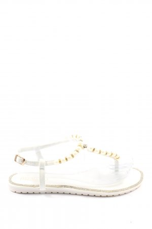 Ferragosto Dianette Sandals gold-colored-white casual look