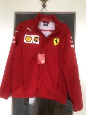 Ferrari F1 2021 Softshell Jacke Team Rot S