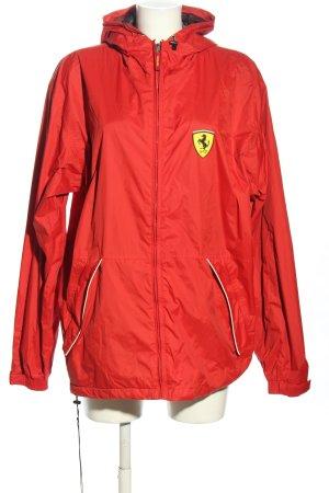 Ferrari Impermeabile rosso stile casual