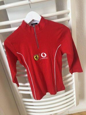 Ferrari Vodafone F1 Racing  Damen  Shirt Red Neuwertig Gr: S
