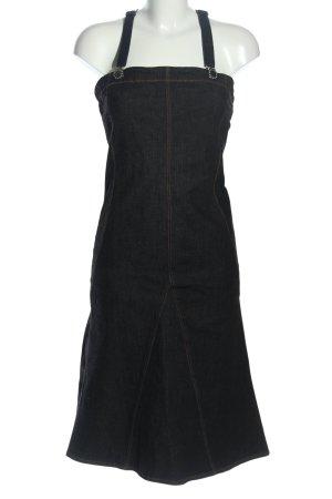 Ferre Vestido vaquero negro look casual